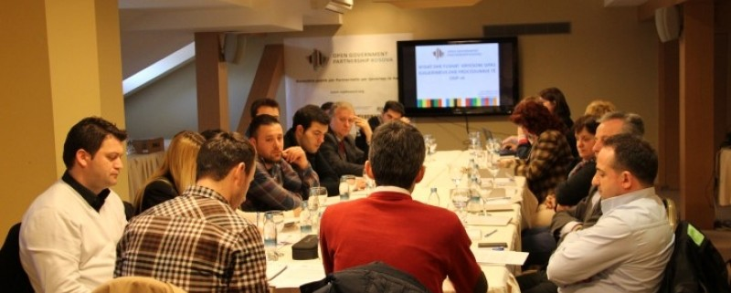 Public consultation on Open Government Partnership in Peja Municipality