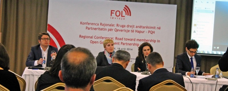 Regional conference - Kosovo-s membership in the Open Government Partnership and regional experiences