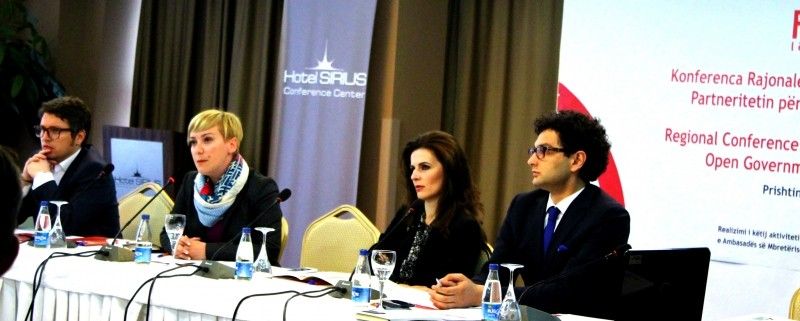 Regional conference - Kosovo-s membership in the Open Government Partnership and regional experiences2