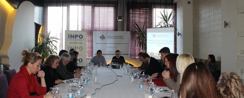 Public consultation on Open Government Partnership in Ferizaj Municipality