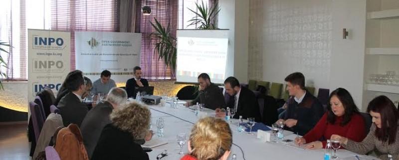 Public consultation on Open Government Partnership in Ferizaj Municipality2