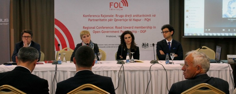 Regional conference - Kosovo-s membership in the Open Government Partnership and regional experiences3