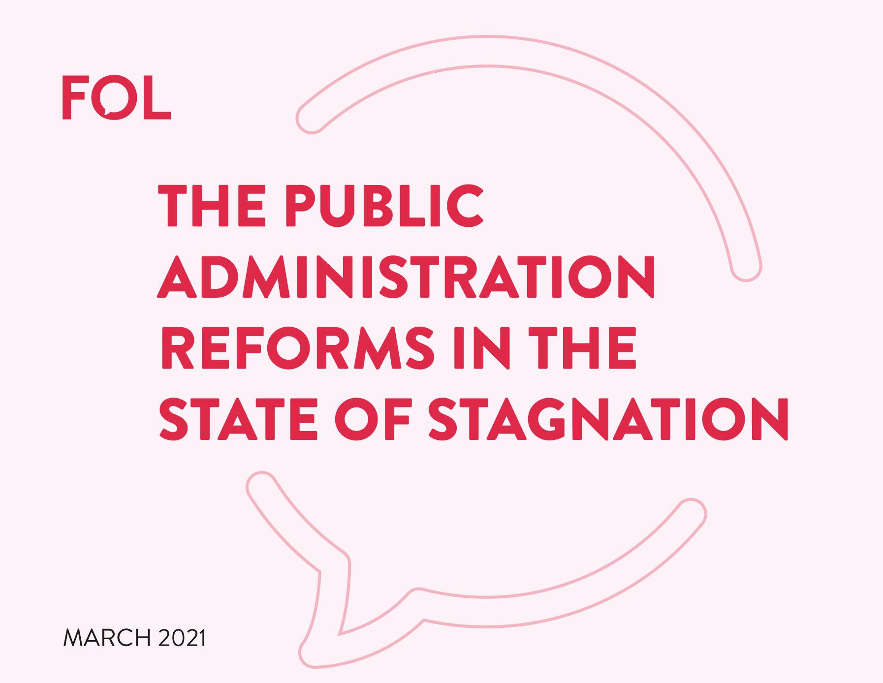 Reformat e administratës publike në gjendjen e stagnimit